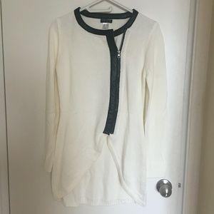 High Low Long Sleeve Sweater